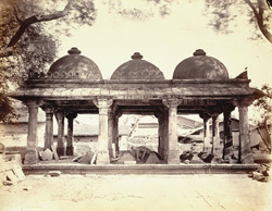 Muhafiz Khan's Tomb, near the Mosque, Ahmadabad
